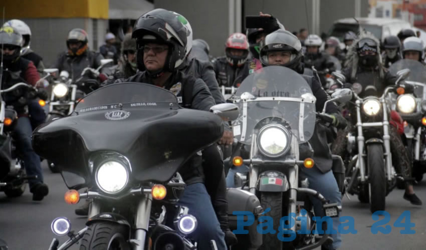 La capital, sede de la concentración internacional de motociclistas Heroica Toma de Zacatecas