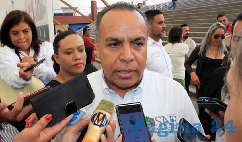 Cliserio del Real Hernández, titular de la Subsecretaría del Servicio Nacional de Empleo (SSNE) (Foto: Rocío Castro Alvarado)