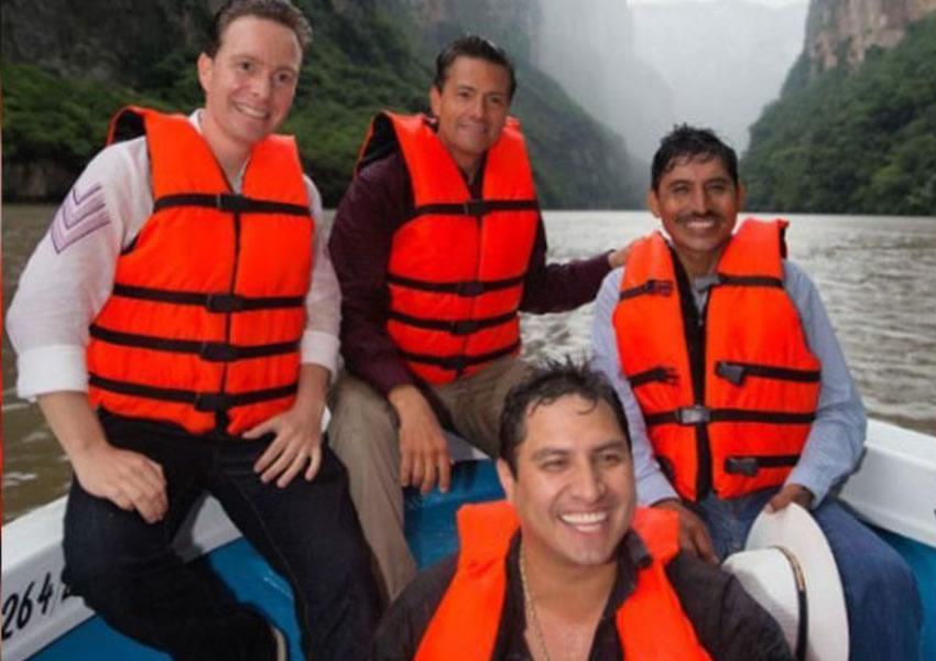 Esta es la foto que el presidente Peña bajó de Instagram ...debió de haber sentido muchas ñáñaras...