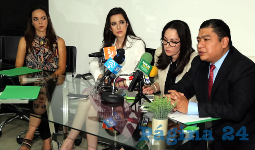 Rueda de prensa de la Sociedad Mexicana de Oncología (Foto: Eddylberto Luévano Santillán)