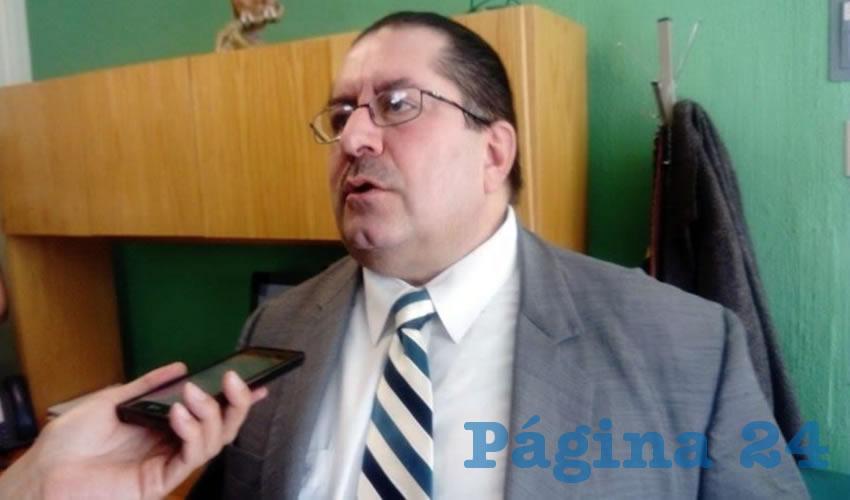 Juan Carlos Medina Mazzoco, director regional de Occidente de Nacional Financiera (Nafin)