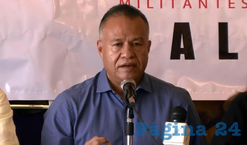 Sólo una izquierda unida  derrocará al PRI: Miz