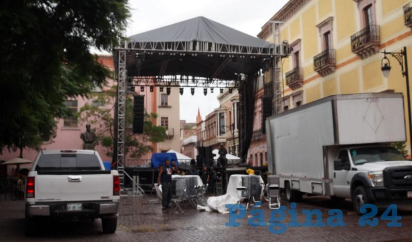 Por Lluvias, Cambian de Sede el 10° Festival Internacional de Jazz y Blues