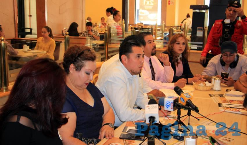 Tony de Marco Ramírez Romero: Desconocemos jurídicamente y políticamente a Enrique Rayas (Foto Rocío Castro Alvarado)
