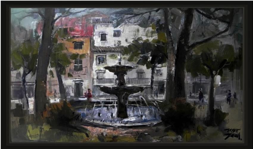 Pintura de Ernest Descals