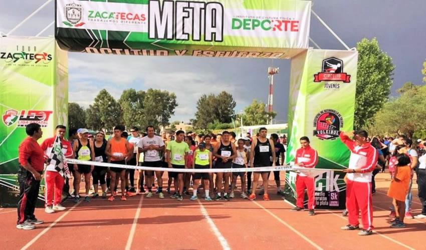 Con más de 125 participantes en diferentes categorías, se llevó a cabo la primera etapa del Circuito Atlético Desarrollo de Talentos que organiza el Instituto de Cultura Física y Deporte del Estado de Zacatecas
