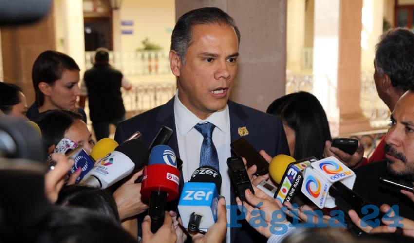 Antonio Arámbula López, secretario de Administración del Municipio