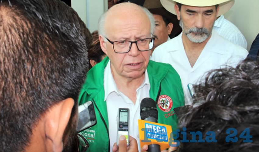 José Narro Robles, secretario de Salud (Foto: Rocío Castro Alvarado)