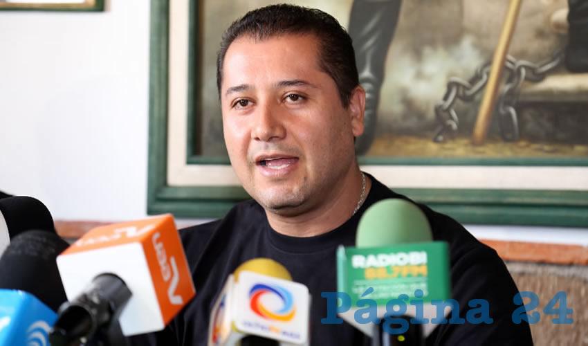 José Manuel Ríos Velázquez, responsable del programa de Planificación Familiar del ISSEA (Foto: Eddylberto Luévano Santillán)
