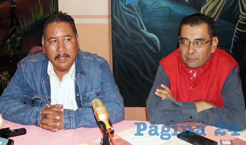Felipe Pinedo Hernández, miembro de la corriente perredista del Frente Popular Lucha por Zacatecas (FPLZ) y de la Coordinadora Nacional Plan de Ayala (CNPA) (Foto Merari Martínez Castro)