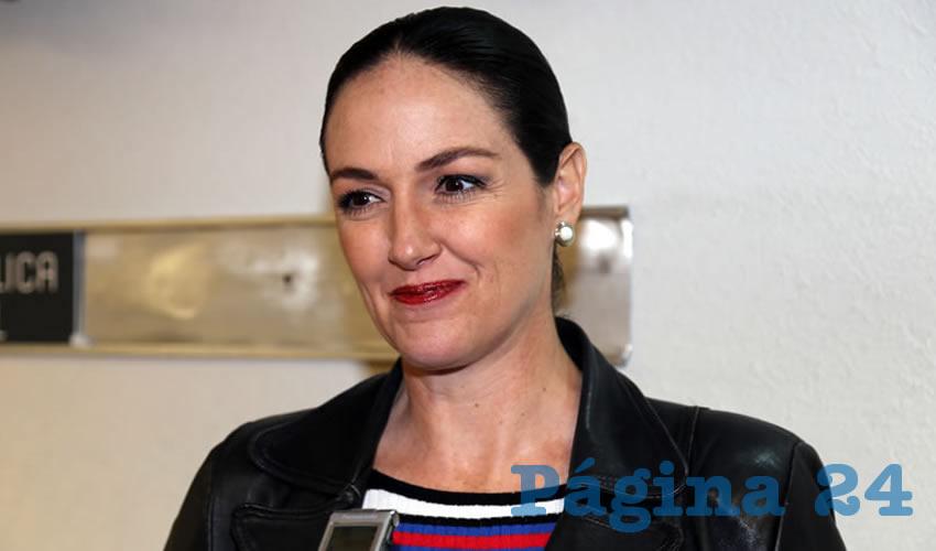 Cristina Urrutia de la Vega, legisladora local