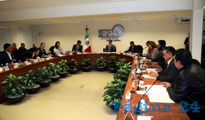Consejo General del Instituto Estatal Electoral de Aguascalientes