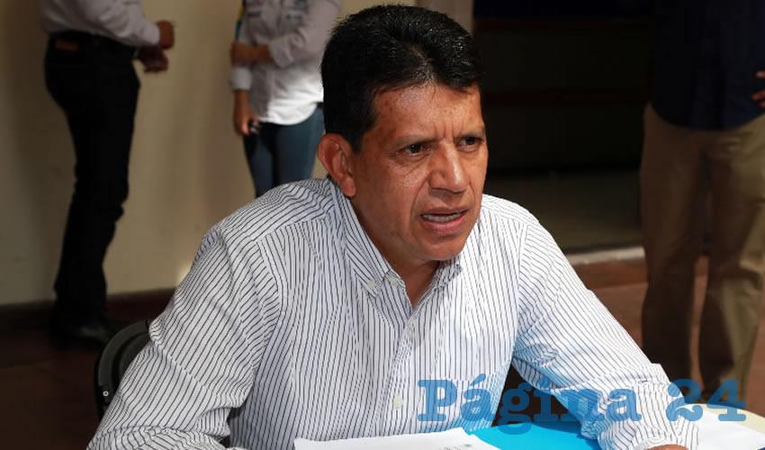 Marco Antonio Licón Dávila, secretario de Obras Públicas
