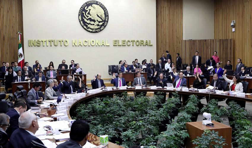 El INE y el Financiamiento Público para las Elecciones