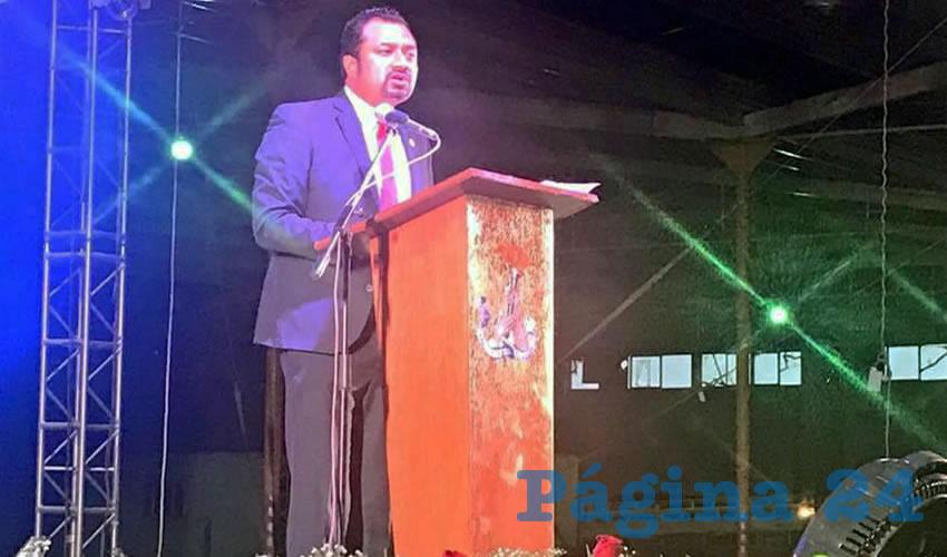 198 participaciones en tribuna, y diversas atenciones a la ciudadanía, fue lo que dio a conocer el diputado local. (Foto: Rocío Castro Alvarado)