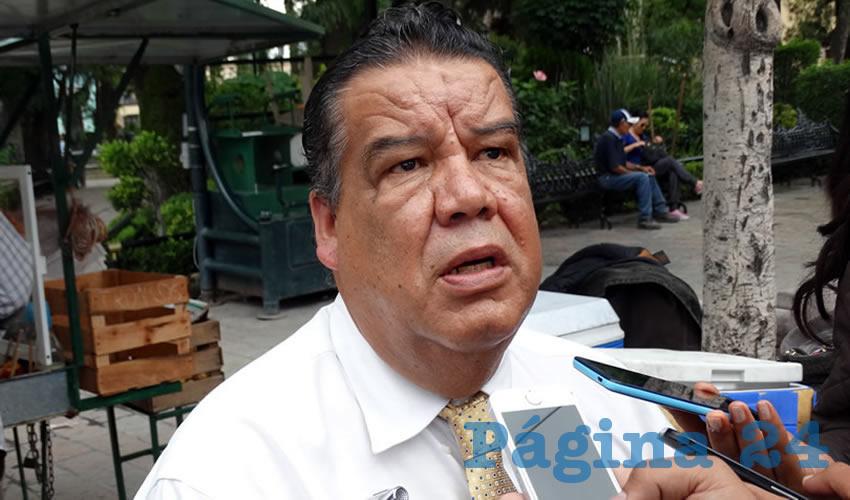 Francisco Javier Flores Flores, líder de Cimientos del Magisterio