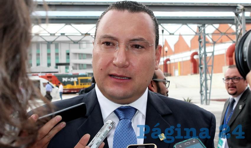 Paulo Gonzalo Martínez López, presidente del PAN