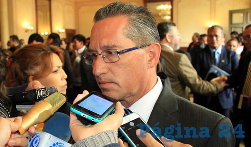 Marco Antonio Vargas Duarte, vocero en materia de seguridad del Gobierno del Estado (Foto: Rocío Castro Alvarado)