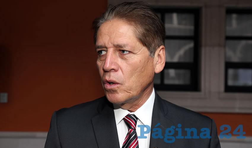 Octavio Arellano Reyna, delegado de la SEP en Aguascalientes