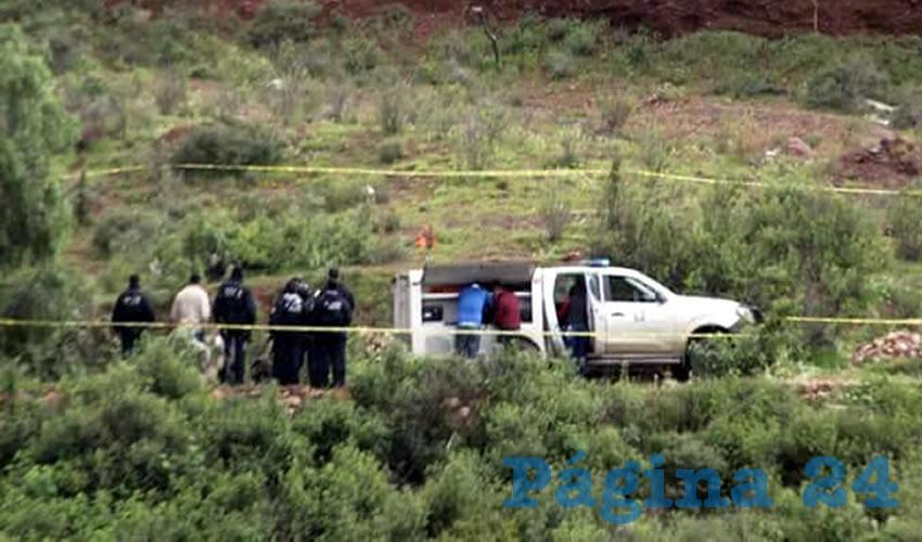 La mujer ejecutada fue encontrada embolsada en las faldas del cerro de la Virgen