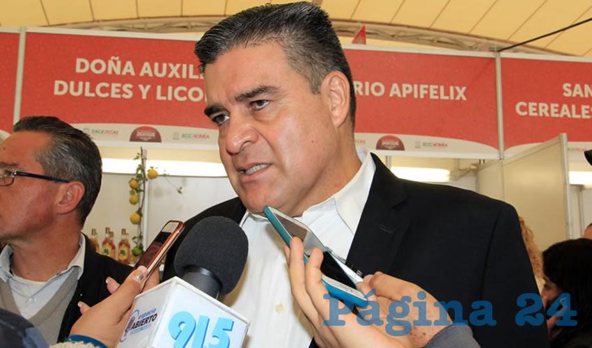 Ismael Camberos Hernández, titular de la Secretaría de Seguridad Pública (SSP): Las Bases de Operaciones Mixtas ya están funcionando con muy buenos resultados (Foto: Rocío Castro Alvarado)