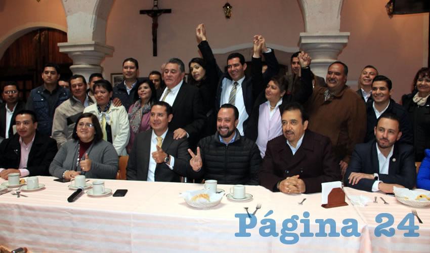 """Ángel Ávila Romero, presidente del consejo nacional del Partido de la Revolución Democrática (PRD): """"La alternativa se llama Frente Amplio Ciudadano por México"""" (Foto Rocío Castro )"""