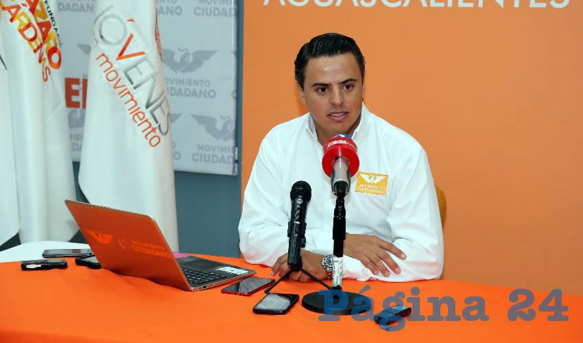 Jaime Durán Padilla, coordinador operativo de MC