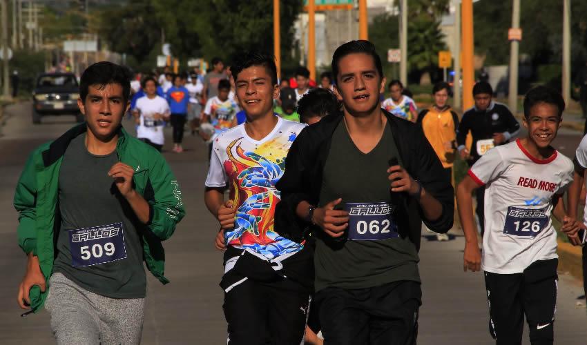 En esta carrera participaron cerca de mil 400 deportistas en las diversas categorías convocadas