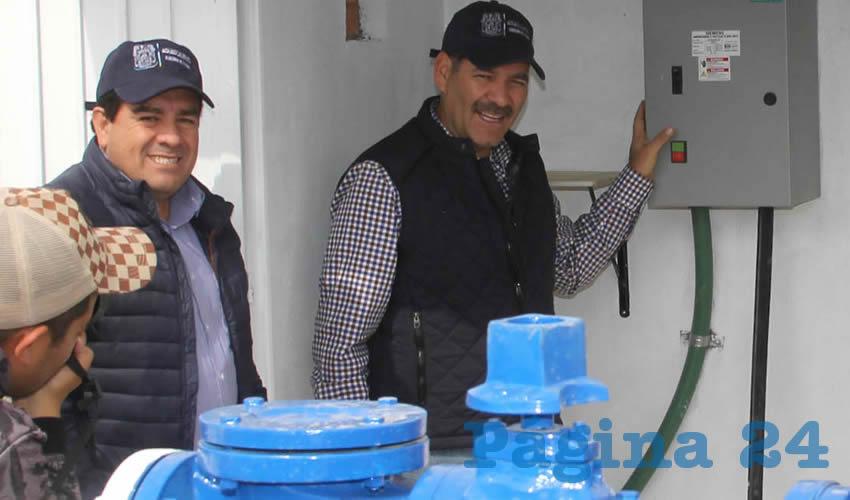 Estamos efectuando las acciones necesarias para que el agua no falte en los hogares de los aguascalentenses: MOS