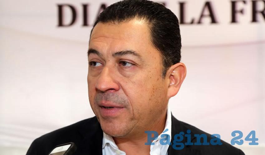 Francisco Romero David, presidente estatal de la CMIC