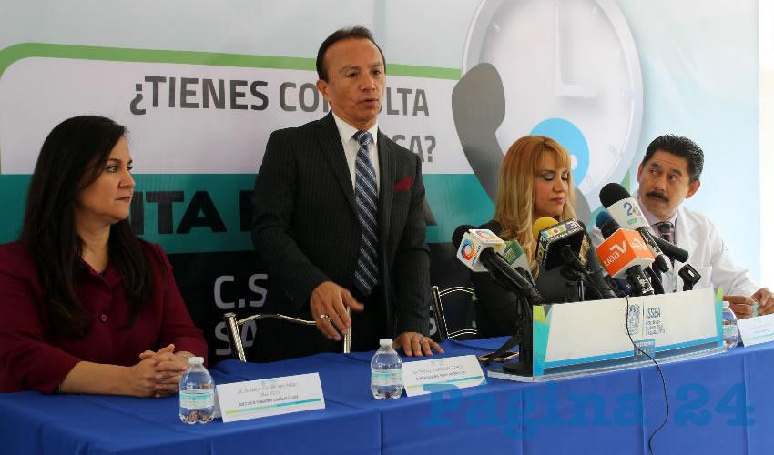 Sergio Velázquez García, director del ISSEA