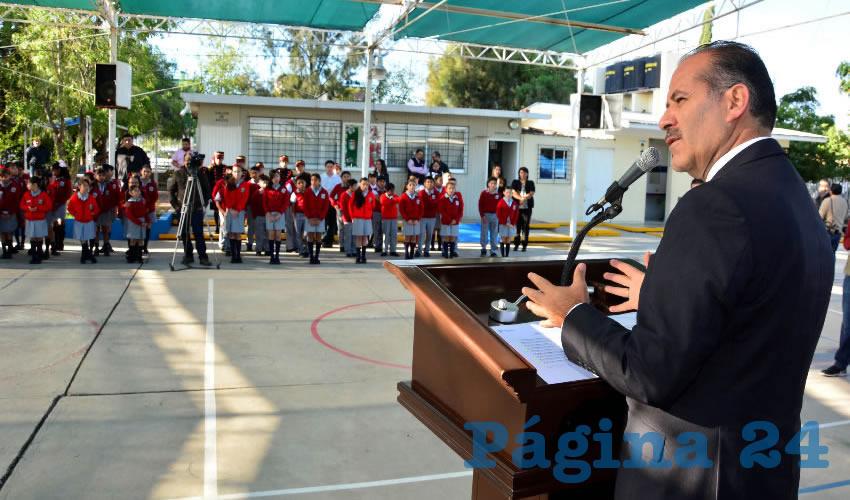 Vamos a seguir trabajando por la educación, es la única forma de sacar adelante a Aguascalientes: MOS