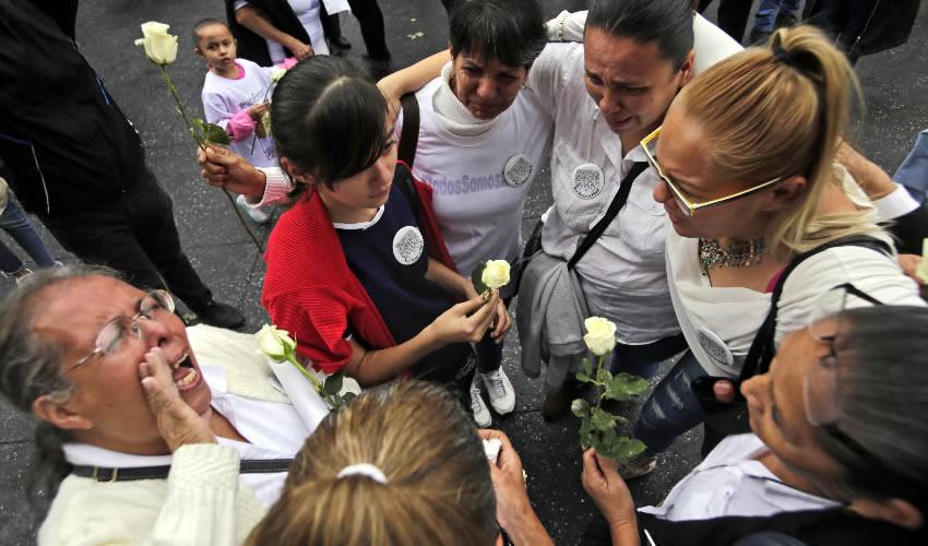 Protesta de familiares de personas desaparecidas en Jalisco, en la explanada del Teatro Degollado/Foto: Cuartoscuro
