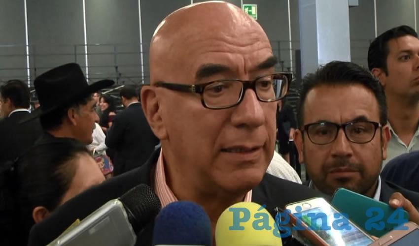 """""""Habrá entidades donde cada uno participe solo y no es ningún hecho aislado"""", manifestó el presidente nacional de Morena, Dante Delgado Rannauro"""