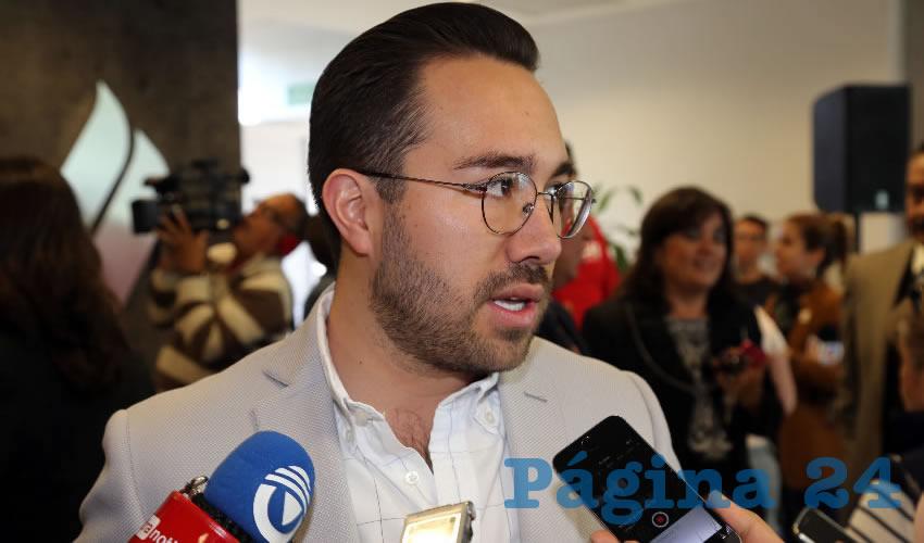 Jesús Guillermo Gutiérrez Ruiz Esparza, legislador local (Foto: Eddylberto Luévano Santillán)