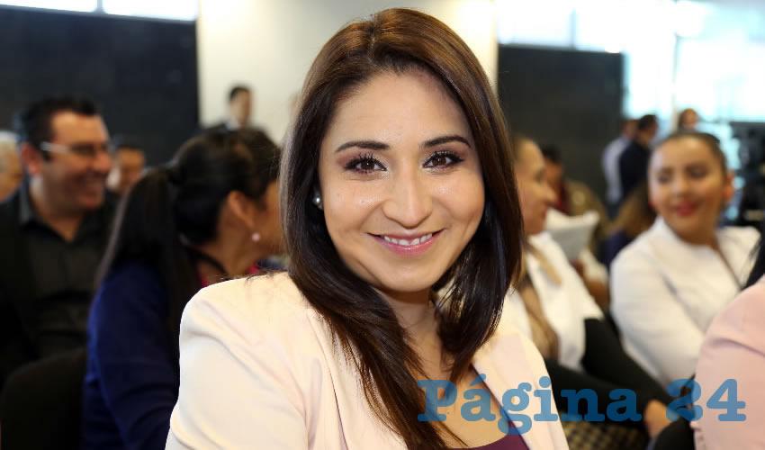 Paloma Cecilia Amézquita Carreón, legisladora local (Foto: Eddylberto Luévano Santillán)