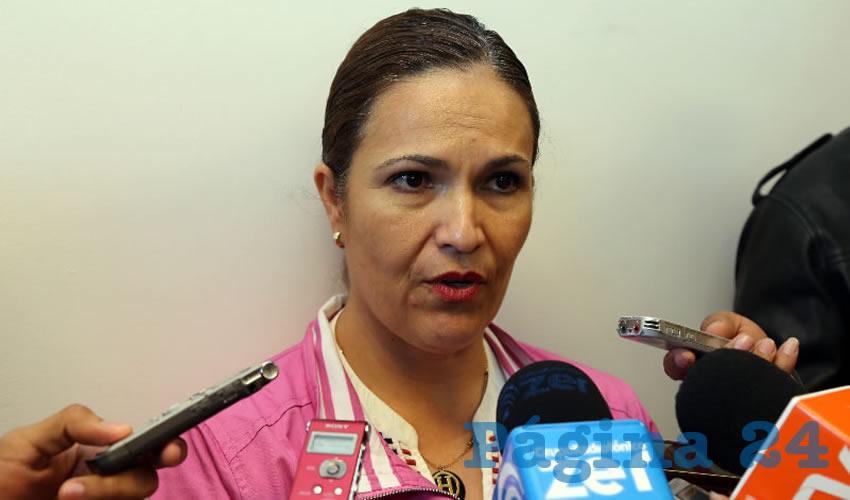 Alicia Edith Hermosillo de la Torre, jefa del Departamento de Psicología de la UAA (Foto: Eddylberto Luévano Santillán)