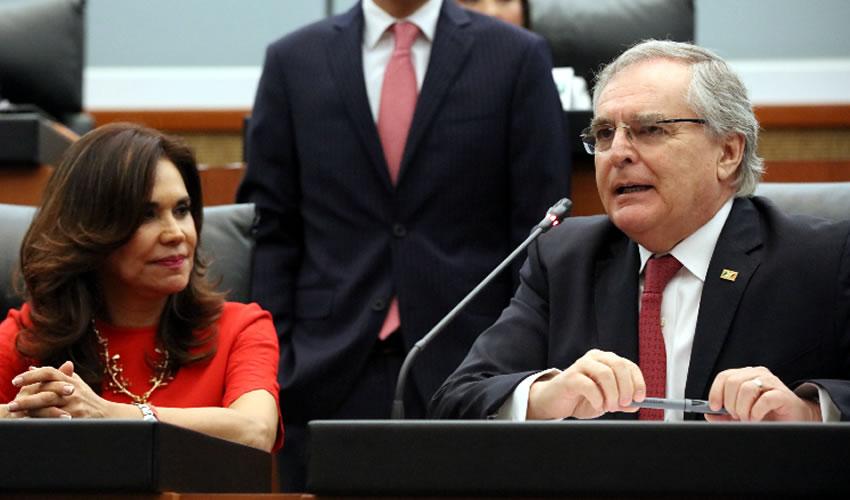 Miguel Romo Medina, senador del PRI
