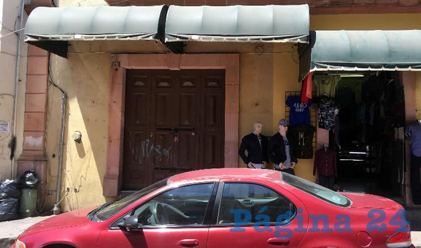 Los locatarios se sienten sin protección (Foto Cristo González)