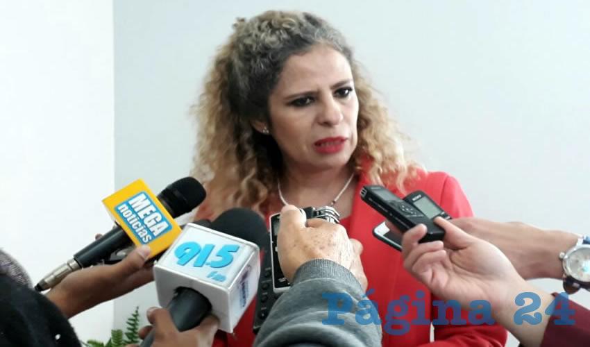 Paula Rey Ortiz Medina, titular de la Secretaría de la Función Pública (Foto: Alberto Núñez Hernández)
