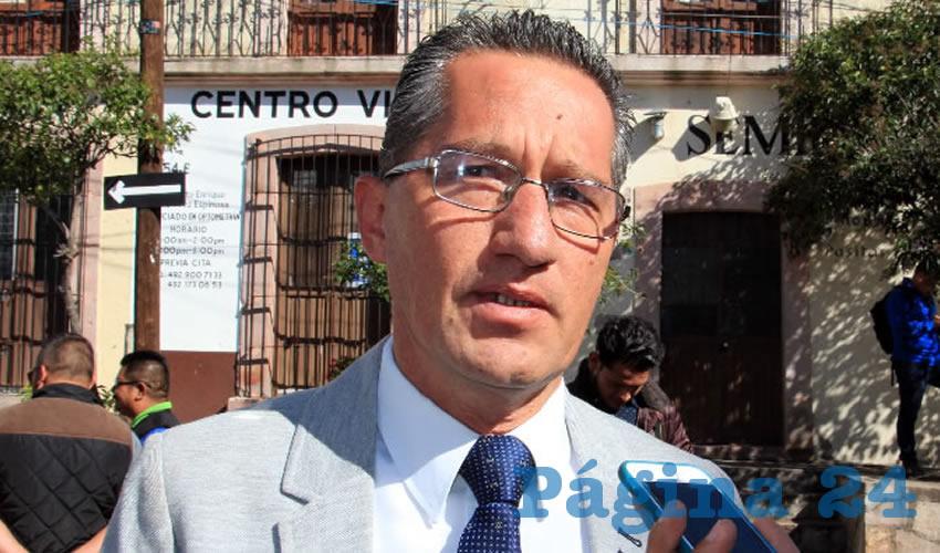 Marco Antonio Vargas Duarte: Se fortalecerá la coordinación con Ejército Mexicano y Policía Estatal (Foto: Rocío Castro Alvarado)