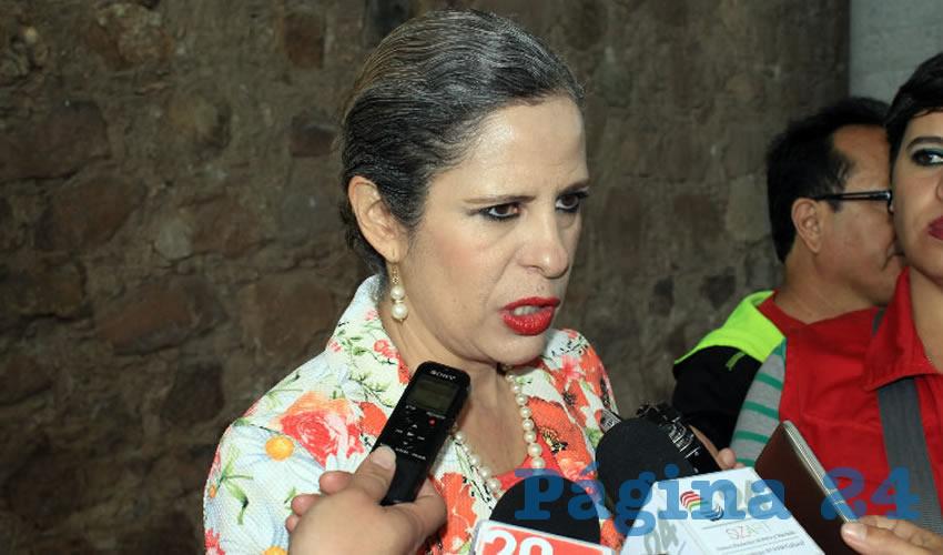 Paula Rey Ortiz Medina, titular de la Secretaría de la Función Pública (SFP) (Foto: Rocío Castro Alvarado)