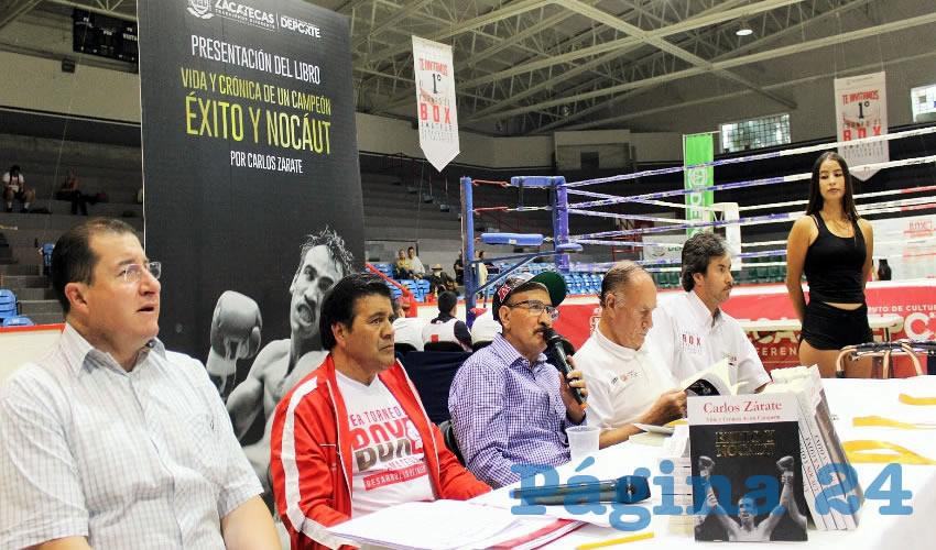 """Presentan """"Vida y Crónica de un Campeón… Éxito y Nocáut"""""""
