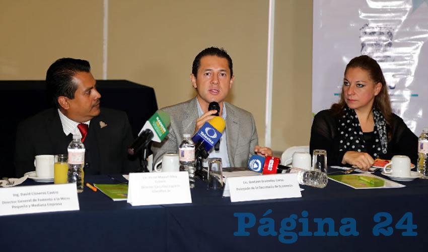 Gustavo Granados Corzo, delegado de la Secretaría de Economía (Foto: Eddylberto Luévano Santillán)