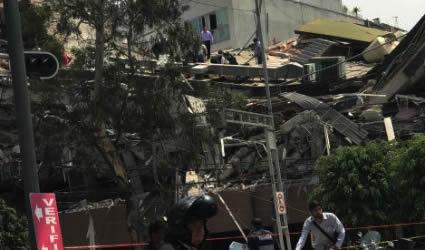 Fuertes Videos del Terremoto del 19 de Septiembre
