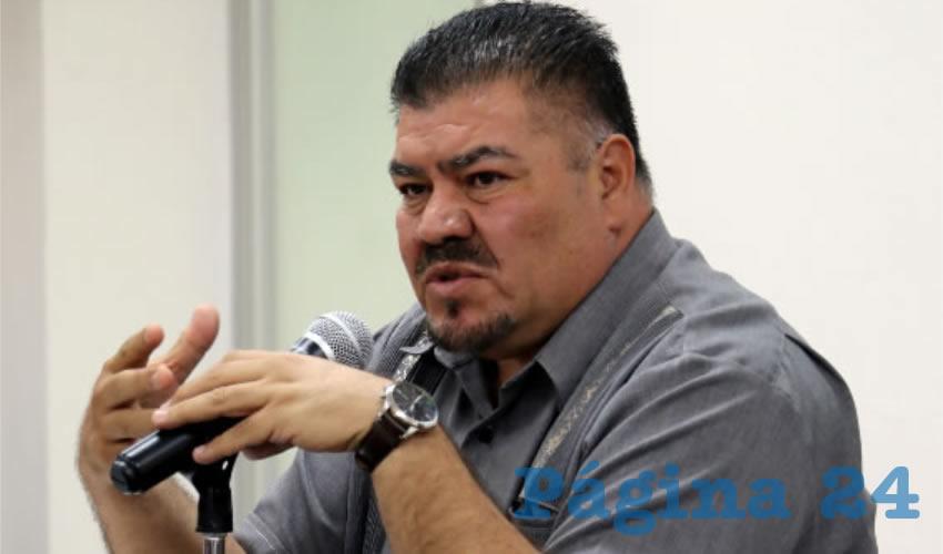 Mario Armando Valdez Herrera, secretario general de la Sección uno del SNTE