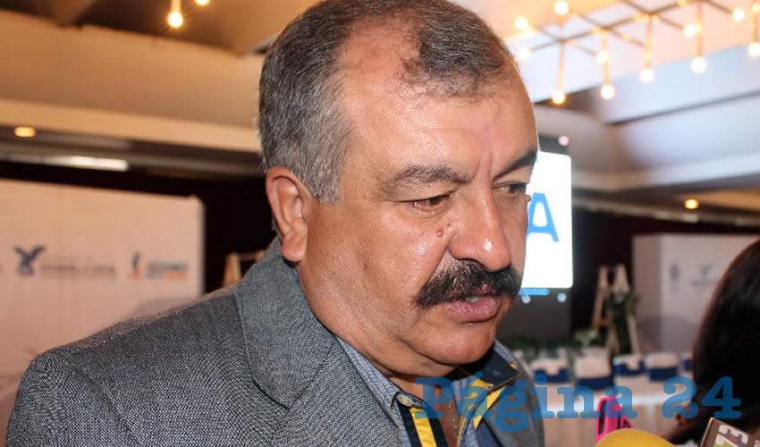 José de Jesús Guzmán de Alba, presidente de la UGRH