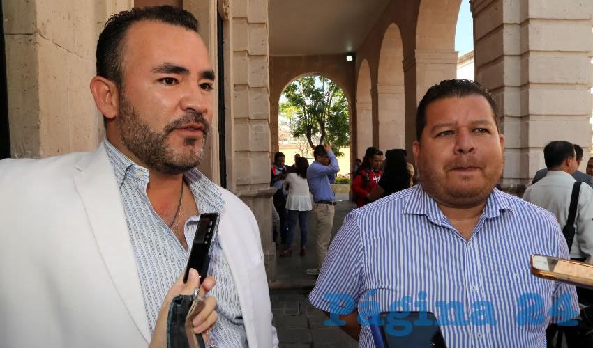 Mauricio González López y Alejandro Monreal Dávila, regidores capitalinos