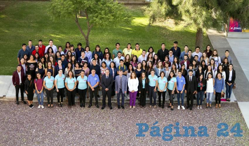 Fueron bienvenidos 197 estudiantes que se reincorporaron a la UAA y 67 alumnos visitantes de México, Europa y Sudamérica
