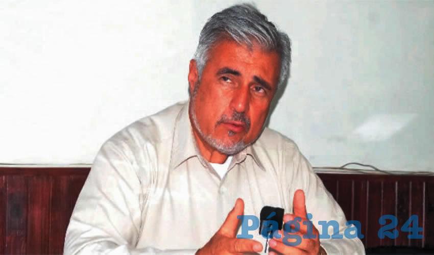 José Narro Céspedes, Senador de la República (Foto: Archivo Página 24)